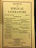 img - for Journal of Biblical Literature, Volume 84 (LXXXIV), Parts I, II, III, IV book / textbook / text book