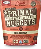 Primal Freeze-Dried Nuggets Pork Formula for Cats 56oz (4 x 14oz)