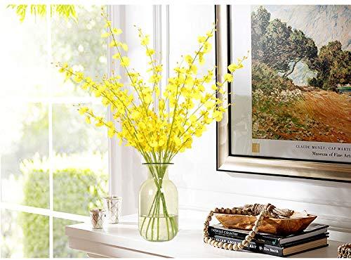 Mountain head アメリカのリビングルームの透明な水耕の花瓶バブルガラス花瓶手作りの緑透明ガラス花瓶 Mountain head B07QG12G32