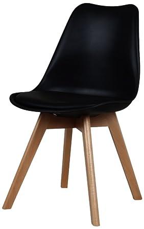 Interior Discount - Lote de 2 sillas plástico 48 x 43 x 83 ...