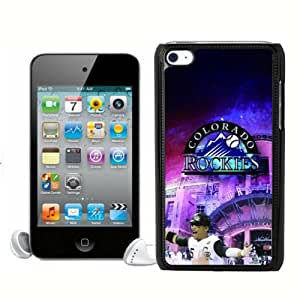 High Quality MLB Colorado Rockies Ipod Touch 4 Case Cover For MLB Fans By zeroCase