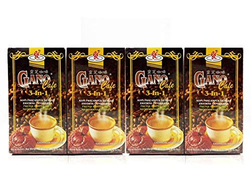 4 boxes GanoCafe 3 in 1 Ganoderma Coffee by Gano Excel