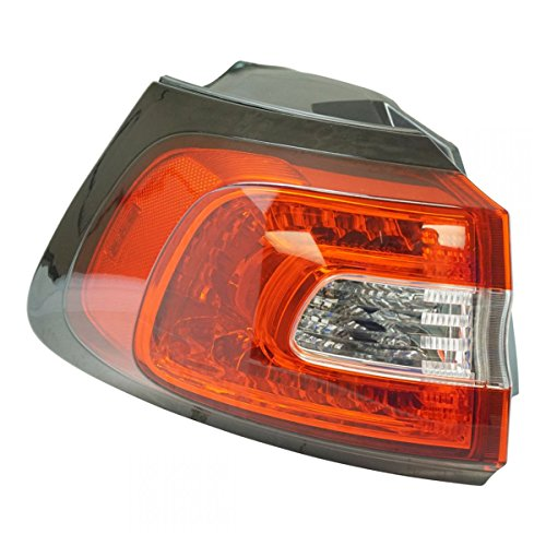 Outer Quarter Panel Mounted Tail Light Lamp Driver Side LH for Jeep Cherokee