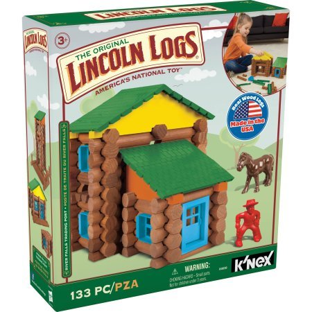 Knex The Original Lincoln Logs River Falls Trading Post 1...