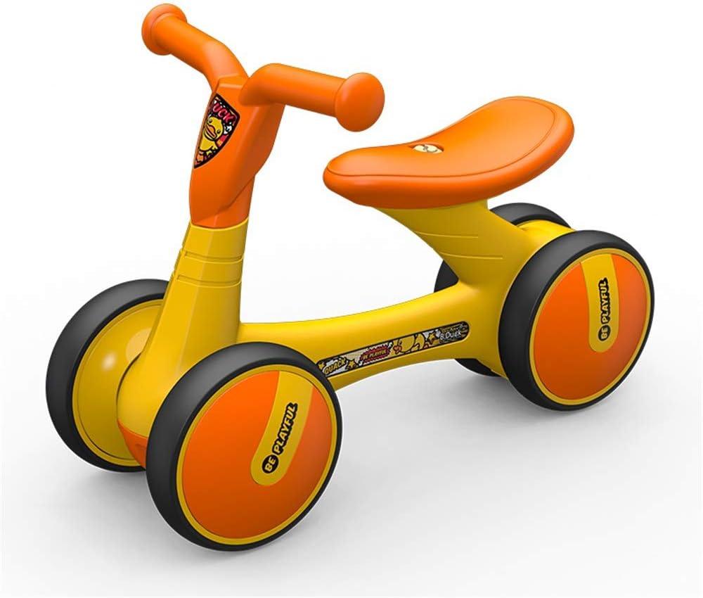Bicicleta de equilibrio para niños Bebé Equilibrio Bicicleta Niños Caminante Niños Paseo Infantil Caminar Juguetes Interior al aire libre Sin pedal Coche Bicicletas duraderas Cuatro ruedas Aprender Lo