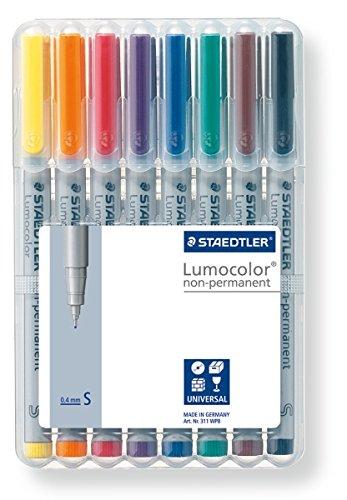 Lumocolor Watersoluble Marker Sf Set Of 8