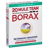 Twenty Mule Team Borax Detergent Booster & Multi-Purpose Household Cleaner 65 oz. Box (10 Pack)