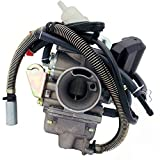 CARBURETOR 150cc 125cc 4 Stroke engines , Fits most 125cc 150cc 4 stroke QMJ152/157 QMI152/157 GY6 engines , Provides great power and torque .   SPECS:  Adjustable Enrichment Screw  Includes Electric choke  Outer Diameter (intake side): 32mm  Inner D...