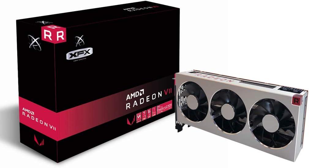 XFX AMD Radeon VII 16 GB HBM2, 1750 MHz Boost, 1801 MHz Peak, 3xDP 1xHDMI Pci-E 3.0