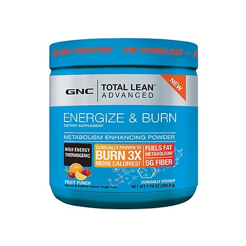 GNC Total Lean Advanced Energize Burn Fruit Punch 220.8 g
