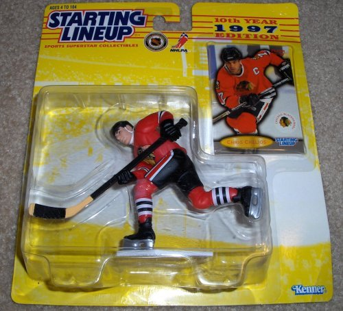 1997 Chris Chelios NHL Starting Lineup by Starting Line ()
