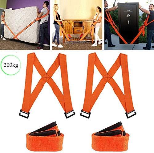 持ち上がることおよび移動革紐、2人用の可動式ショルダーストラップセットは、滑らないようにウェイト、電化製品、家具を持ち上げます。