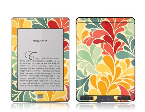 GelaSkins Protective Film for Amazon Kindle Touch - Sea Garden