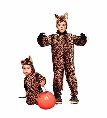 RG Costumes 70073-T Leopard Jumpsuit-Plush-Toddler