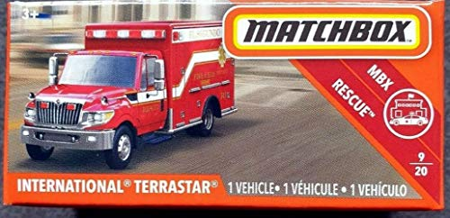 Matchbox Rescue Series International TERRASTAR 9/20, RED