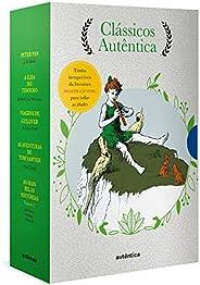 Caixa Clássicos Autêntica - Vol. 2 - (Texto integral - Clássicos Autêntica): Peter Pan; A ilha do tesouro; Via