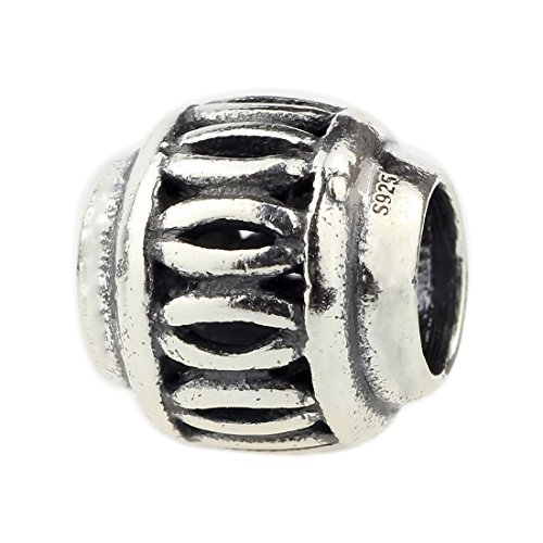 - Beads Hunter 925 Sterling Silver Ancient Pottery Charm For European Bracelet