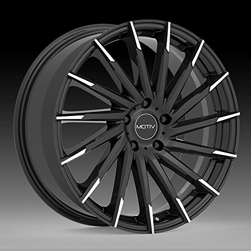 - Motiv 417MBT Montage 19x8.5 5x112 +40mm Black/Machined Tips Wheel Rim