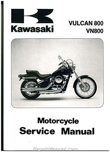 99924 1183 09 1995 2005 kawasaki vn800 vulcan service manual rh amazon com kawasaki vn 800 drifter service manual kawasaki vulcan 800 workshop manual