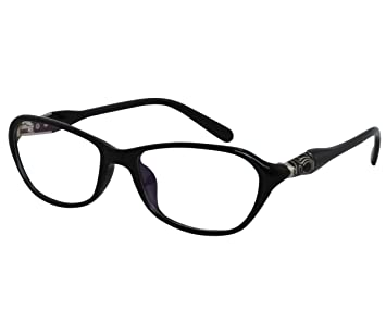 e6554647e6f Amazon.com  EyeBuyExpress Reading Glasses Womens Mens Black Unique ...
