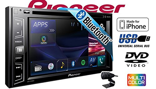 Pioneer AVH-X390BT Smartphone kompatibles Multimedia Autoradio 2DIN Bluetooth Einbauset f/ür Mercedes C- JUST SOUND best choice for caraudio Autoradio