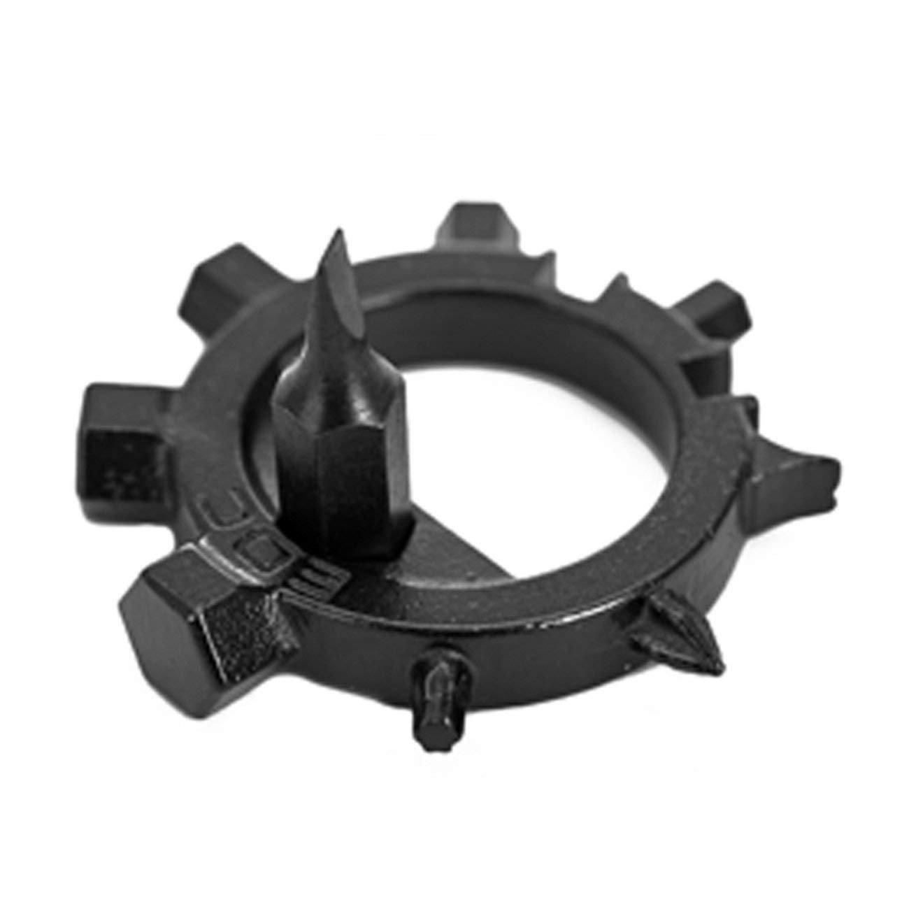 Liobaba Portable 12 Functions Gear Stainless Steel Octopus Bicycle Repair Tools Screwdriver Outdoor Multifunctional Tool