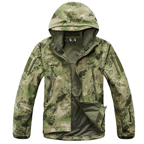 Militar Abrigo Al Escudo Green De Capa Aire Espesa Impresa Camo Libre La Hombres Camuflaje Los Manera SHdwHnrv