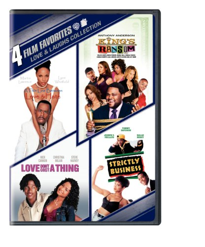 4 Film Favorites  Love   Laughs  Kings Ransom  Love Dont Cost A Thing  Strictly Business Thin Line Between Love   Hate