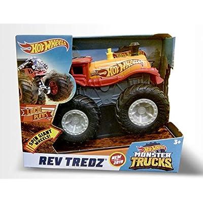 Hot Wheels Rev Tredz Loco Punk Monster Truck, 1:43 Scale: Toys & Games