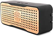 Solar Speaker, Portable Wireless Bluetooth Bamboo Speaker & Phone Charger by REVEAL - Eco-Friendly Bamboo