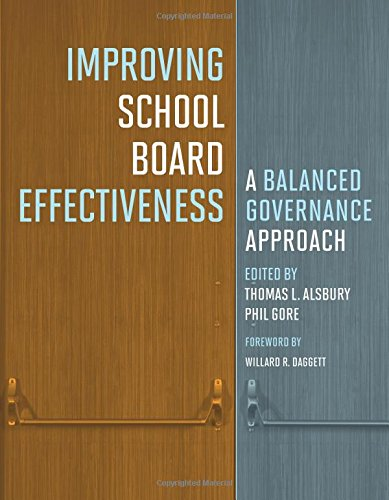 Improving School Board Effectiveness: A Balanced Governance Approach