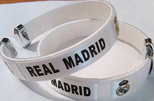 Real Madrid Team Logo Spanish Soccer Bracelet - Team Bracelet Logo