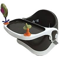 Kraft D TBS-101/BL  Oyuncaklı Booster Mama Sandalyesi, Siyah