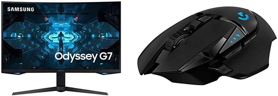 Logitech G502 Lightspeed Wireless Gaming Maus Computer Zubehör