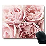 Pink Roses Rugosa Flower Personality Desings Mouse Pad Great Gift Idea Mouse pad
