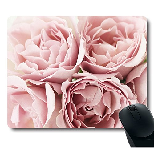 (Pink Roses Rugosa Flower Personality Desings Mouse Pad Great Gift Idea Mouse pad)