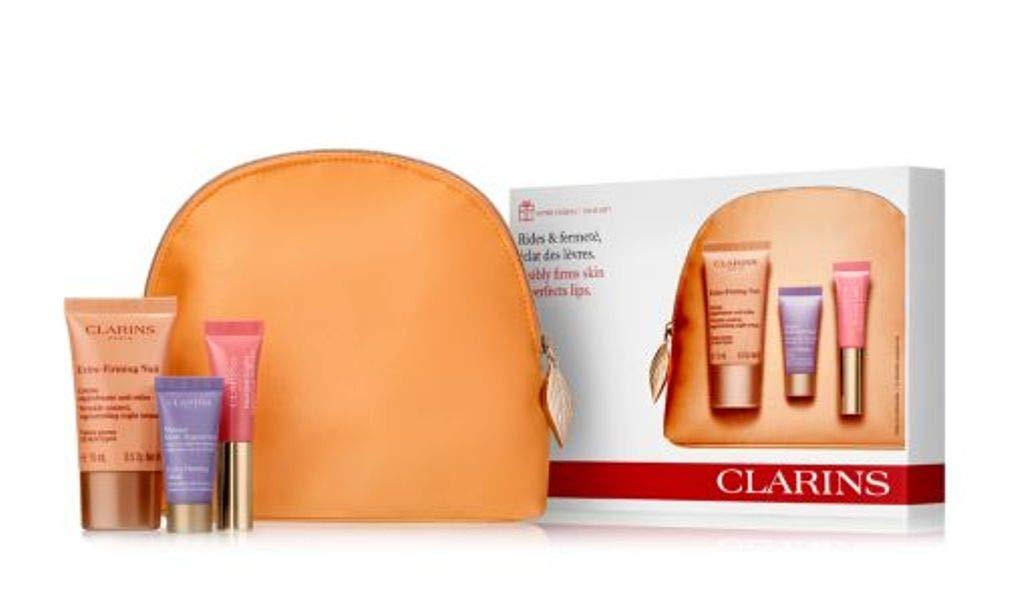 Clarins Extra Firming Kit Travel Gift Bag 4pc Set