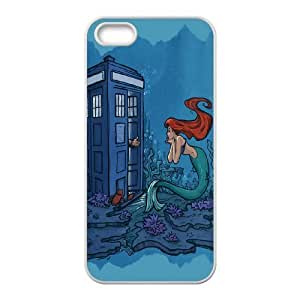 James-Bagg Phone case The Little Mermaid Protective Case For Apple Iphone 5 5S Cases Style-3