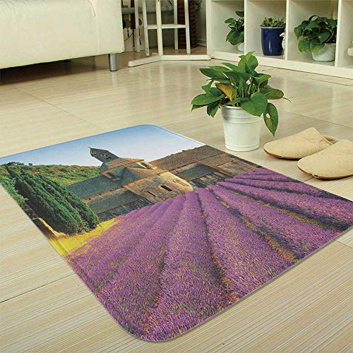 YOLIYANA Custom Carpet,Lavender,for Children Bedroom Corridor,35.43