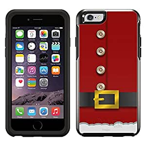 Skin Decal for OtterBox Symmetry Apple iPhone 6 Case - Red Santa Suit
