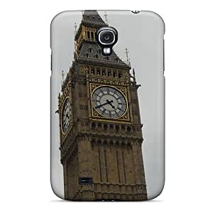 Slim Fit Tpu Protector Shock Absorbent Bumper Big Ben Case For Galaxy S4