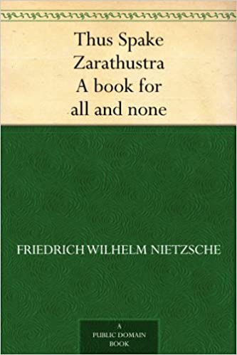 thus spoke zarathustra epub files