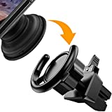 CloudValley Pop Socket Car Mount, Air Vent Cell Phone Car Holder Clip for iPhone X/8/7/6s/Plus, Samsung Galaxy S9 S8 Edge S7 S6 Pixel 2 and more