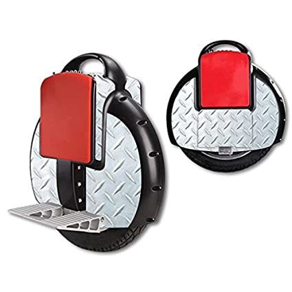 the latest 5a0ec 9c4cd Amazon.com  MightySkins Protective Vinyl Skin Decal for Airwheel X3 Self  Balancing one Wheel Electric Unicycle Scooter wrap Cover Sticker Diamond  Plate  ...