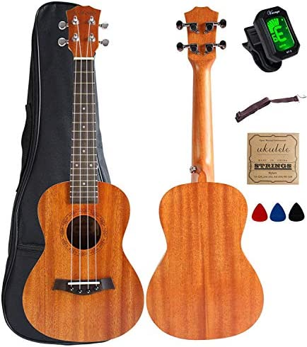Concert Ukulele Mahogany Accessories Electric product image