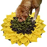 Ali Snuffle Mat Dog Slow Feeding Training Mat, Pet Snuffle Mat Nosework Blanket Non Slip Pet Activity Mat for Foraging Skills, Stress Release