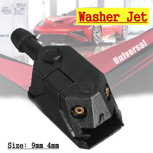 (AutoE 1pcs Rear Car Arm Windscreen Washer Wiper Blade Water Spray Jets Nozzle Universal)