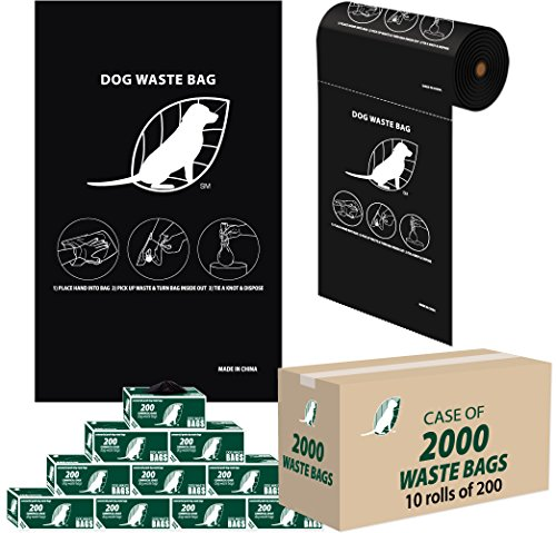 - Dog Waste Bags - 3 cents a Bag - (10 rolls / 200 per roll = 2,000 ROLL BAGS)