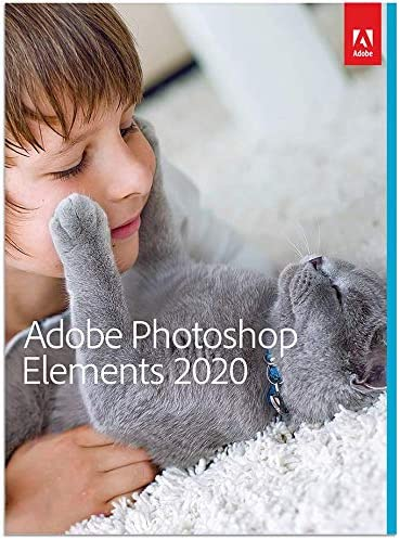 [OLD VERSION] Adobe Photoshop Elements 2020 [PC/Mac Disc]