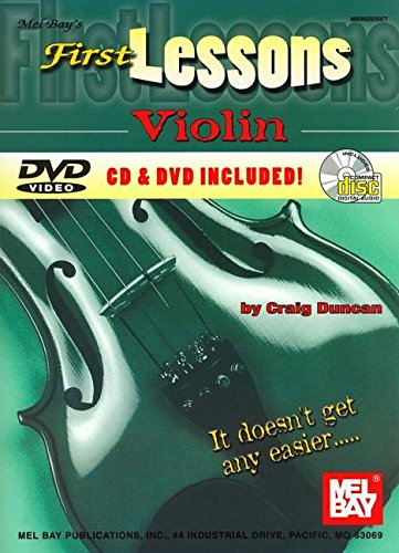 Mel Bay's First Lessons Violin pdf